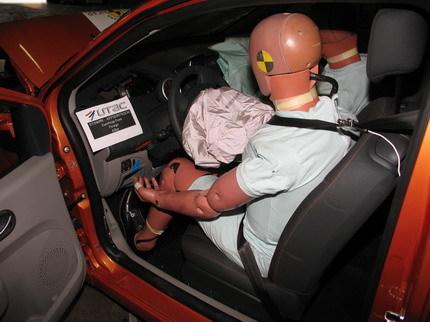 Renault Twingo Test EuroNCAP