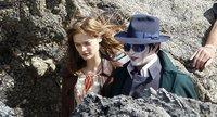 'Dark Shadows', primeras imágenes de Johnny Depp en lo nuevo de Tim Burton