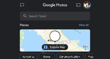 Google Fotos está probando un nuevo mapa de búsqueda para encontrar tus fotos más fácilmente