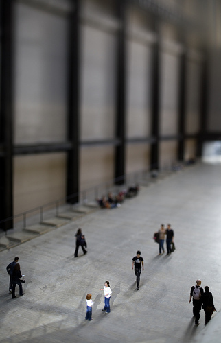 Tate Modern - Tilt Shifted de Twice.Daily