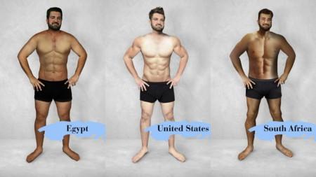 El Estandar De Belleza Masculina En El Mundo Tan Diversa Como El Cuerpo Mismo
