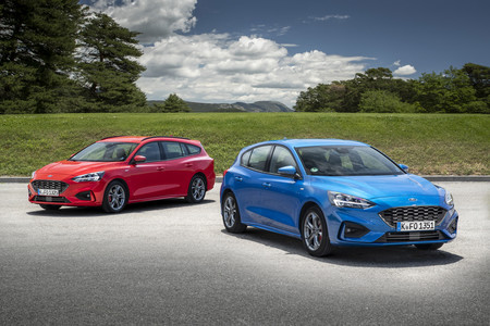 Ford Focus 2018, prueba contacto