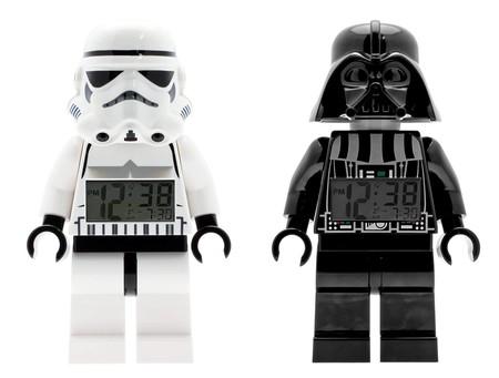 Despertadores Lego Star Wars rebajados en Zavvi: Stormtrooper o Darth Vader por 23,99 euros