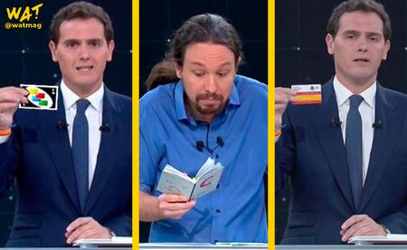 Si ves el debate electoral con los subtítulos de 'Friends' Albert Rivera se convierte en Ross