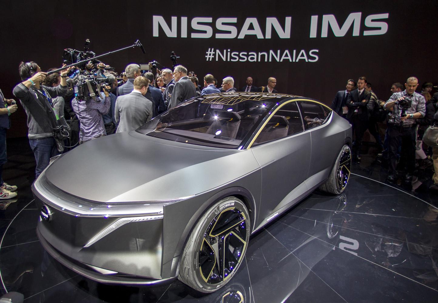 Foto de Nissan IMs EV Sports Sedan concept (29/31)