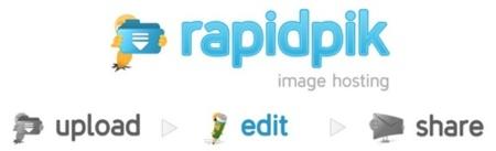 Rapidpik, servicio de almacenamiento de imágenes muy diferente