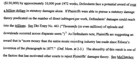 Discográficas de EE.UU. piden 75.000.000.000.000 de dólares de indemnización a Limewire