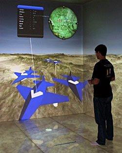Habitación realmente virtual