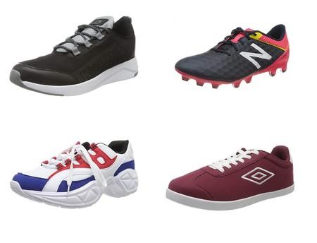 Chollos en tallas sueltas de  zapatillas Under Armour, New Balance o Kappa por menos de 25 euros en Amazon
