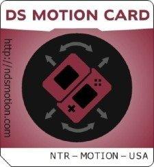 DS Motion Card, casi como el mando de la Wii en tu Nintendo DS
