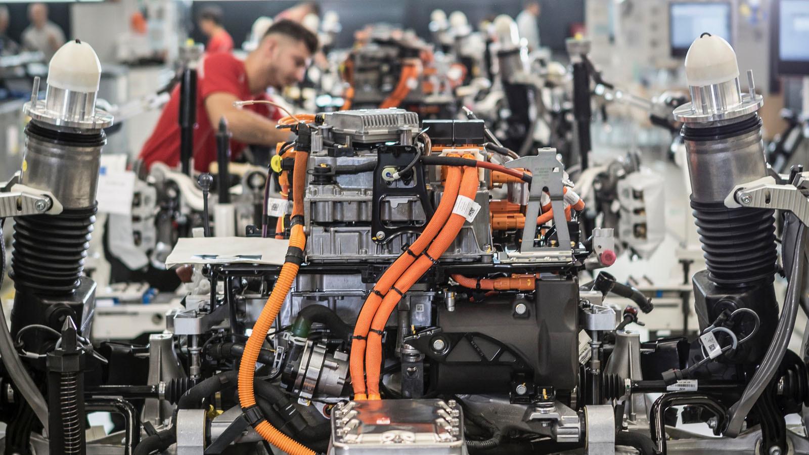 Foto de Fábrica Porsche Taycan (inauguración) (25/44)