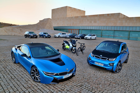 Gama BMW híbrida eléctrica