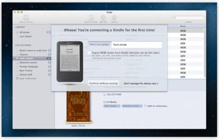 Scida, por fin una aplicación perfecta para sincronizar tu Kindle