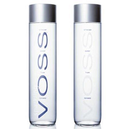 Resulta que la botella de agua mineral Voss contiene agua de un acuífero cercano a Iveland