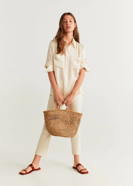 Mango Camisa Blanca