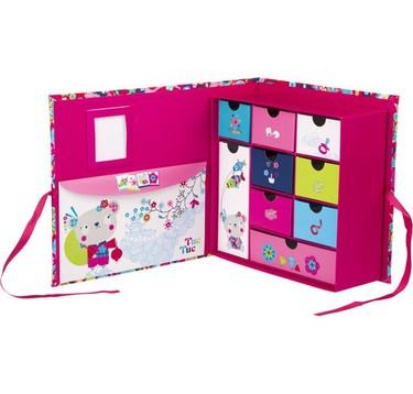 """Bonitas """"cajas de los tesoros"""" para guardar los recuerdos del bebé"""