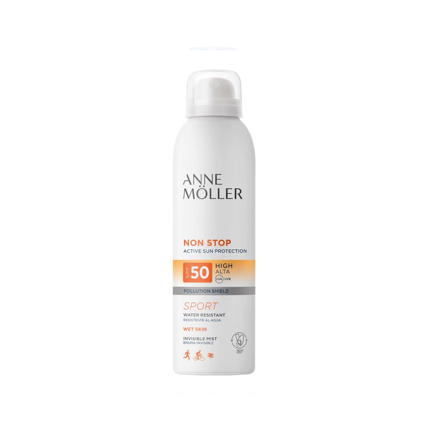 Non Stop Mist Invisible SPF50 200 ml Anne Möller