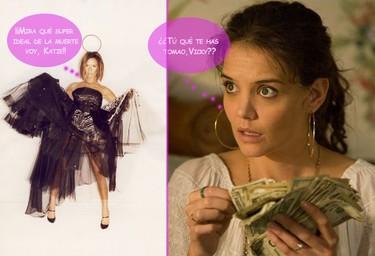 ¿Tú qué te vas a poner, Katie? Ay, chica, pues no sé, ¿y tú, Vicky?