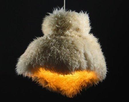 Lamblamp, lámparas peludas para el invierno