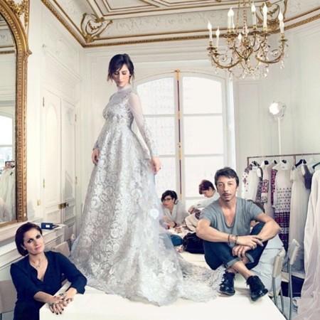 El vestido de Valentino de Sophie Hunter, ya Mrs Cumberbatch, el día de su boda