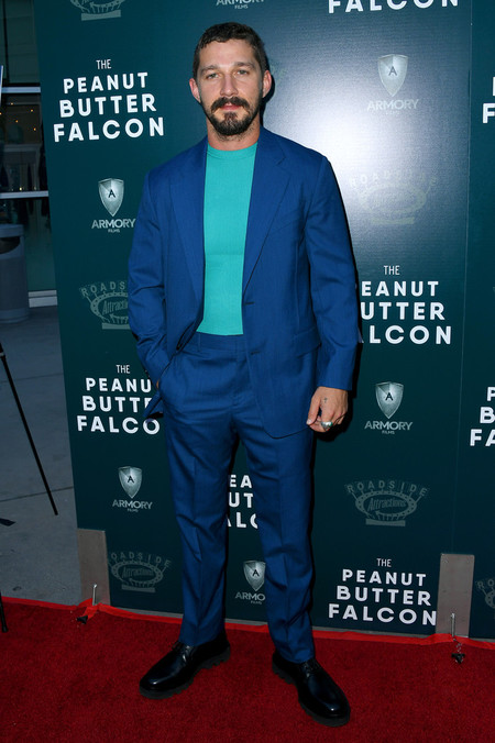 Shia Labeouf The Peanut Butter Falcon Red Carpet Style 02