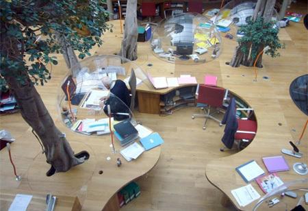 Foto de Espacios para trabajar: las oficinas de Pont & Huot en París (1/7)