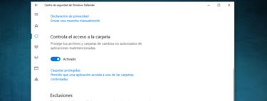 Cómo activar la protección contra ransomware de Windows 10
