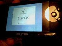 Mac OS 7.5.5 arrancado desde una PSP