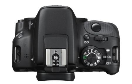 Canon EOS 100D desde arriba