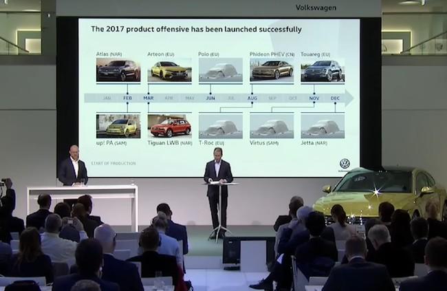 Volkswagen desvela su hoja de ruta: 1 millón de eléctricos para 2025 y 19 SUV para 2019