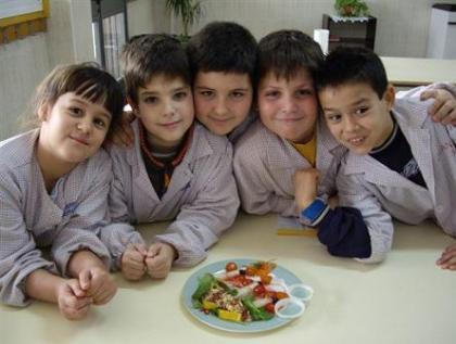 ¿Qué alimentación reciben los niños?