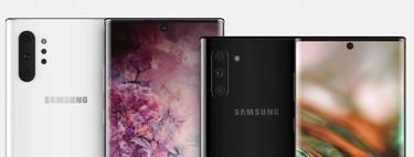 El Samsung Galaxy Note 10 sin microSD y el Note 10 Pro con ella, según la última filtración