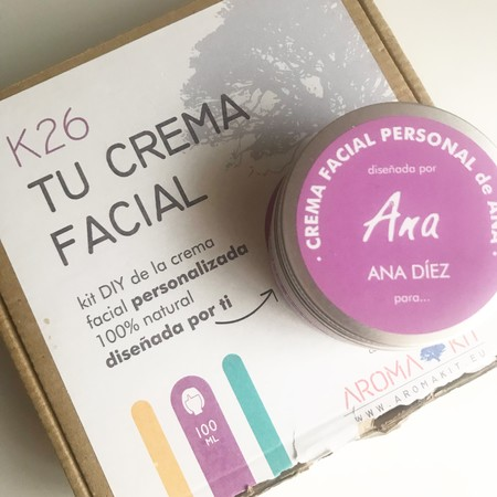 Creamos nuestra crema a medida, DIY y 100% natural, con Aroma+Kit