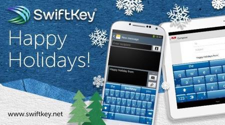 SwiftKey ice, la perfecta temática para esta navidad