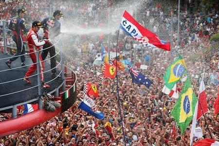 Christian Horner culpa a Alonso de los abucheos a Vettel