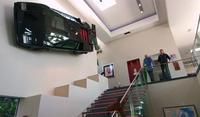 Cuando un Lamborghini Countach decora tu pared