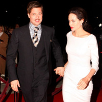 Angelina Jolie y Brad Pitt en la premiere de The Curious Case of Benjamin Button