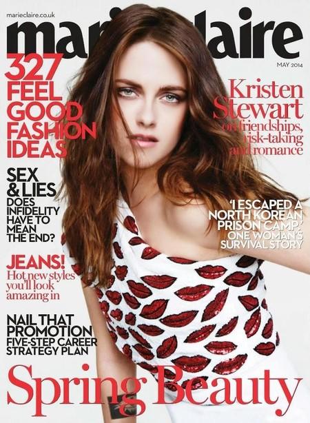 Kristen Stewart te come a besos desde la portada de la revista Marie Claire