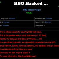 Los hackers de HBO cumplen su promesa: filtran resúmenes de 'Juego de Tronos', capítulos de otras series y más