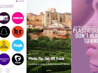Ya está aquí 6discover: la app de Rudy Huyn para Snapchat Discover