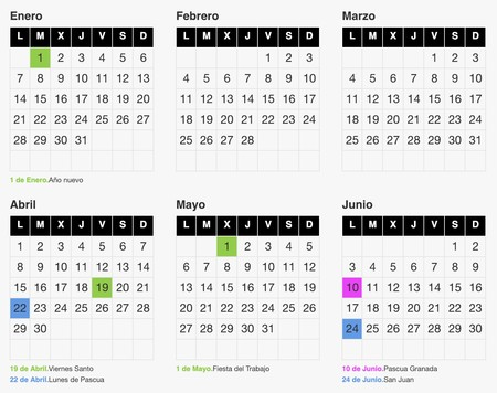 Calendario Laboral 2020 Madrid Capital.Calendario Escolar Vs Calendario Laboral 2019 Estos Son Los