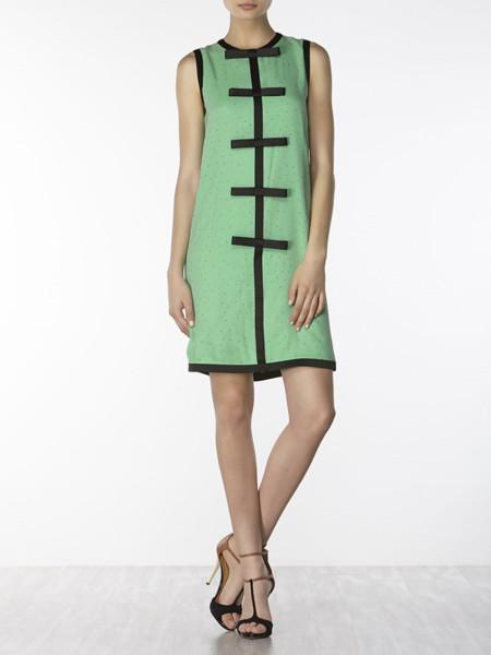 Hoss Intropia Vestido verde