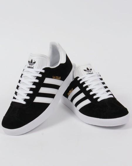 Zapatillas clásicas Adidas Gazelle Black & White por 67,50 euros con este cupón