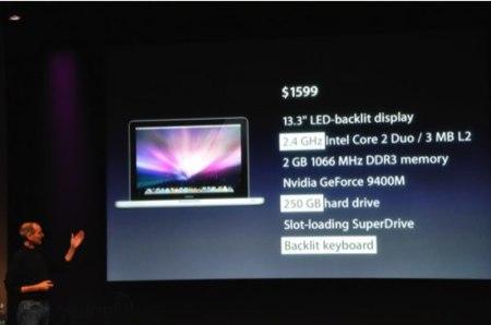 Macbook, nuevo modelo metálico