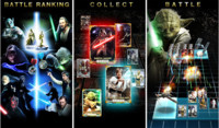 Star Wars Force Collection, un juego de cartas coleccionables para iOS para caballeros Jedi o no