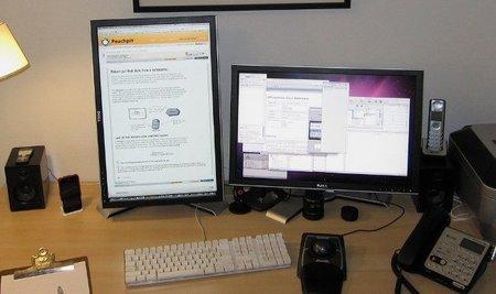 Pantallas panorámicas para mejorar la productividad