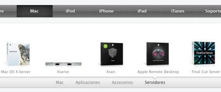 Apple.com Apple.es web diseño
