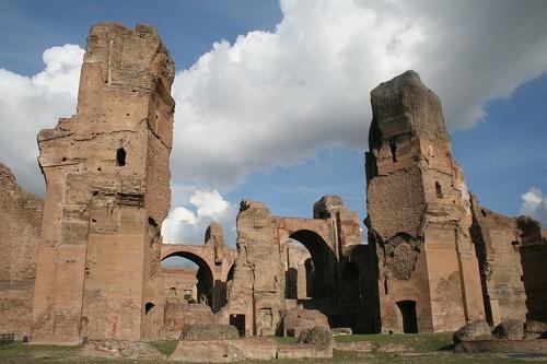 Roma impide que se abra un McDonald´s en las termas de Caracalla, pues pone en riesgo el decoro de la ciudad