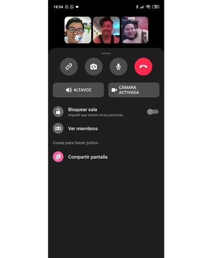 Videollamada Messenger Rooms Salas Whatsapp Instagram Facebook Mexico