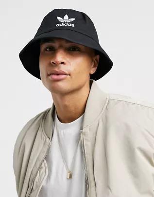 Sombrero de pescador negro adicolor de adidas Originals